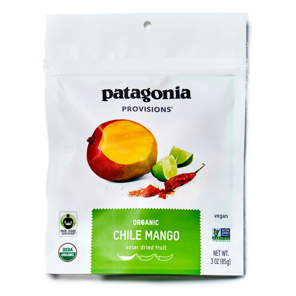 Northeast Fall Road Trip - What to Pack - Patagonia Provisions Dried Mango