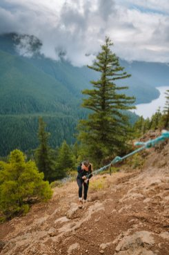 Olympic National Park Adventure Getaway 24 Hour Itinerary from Seattle Renee Roaming Mount Storm King Hike 3