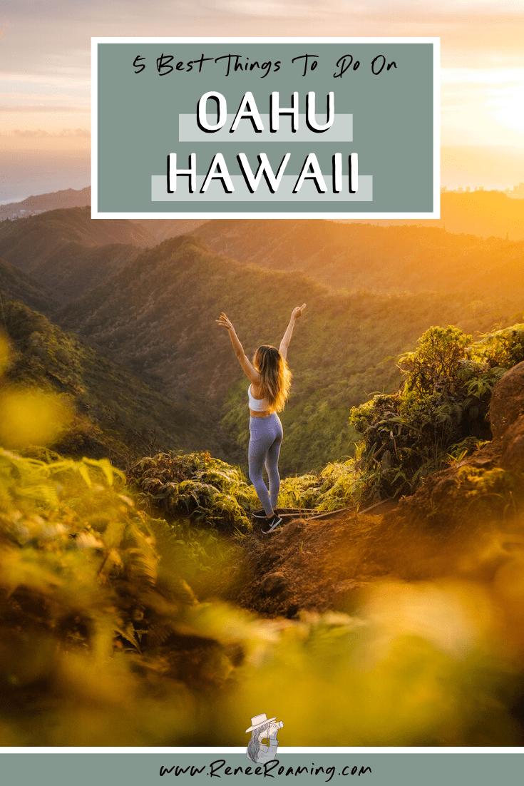 oahu hawaii destionation renee roaming