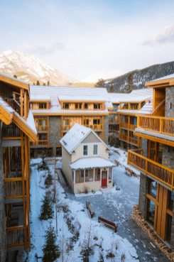 Planning a Trip to Banff in Winter - Moose Hotel and Suites 2 -Renee-Roaming