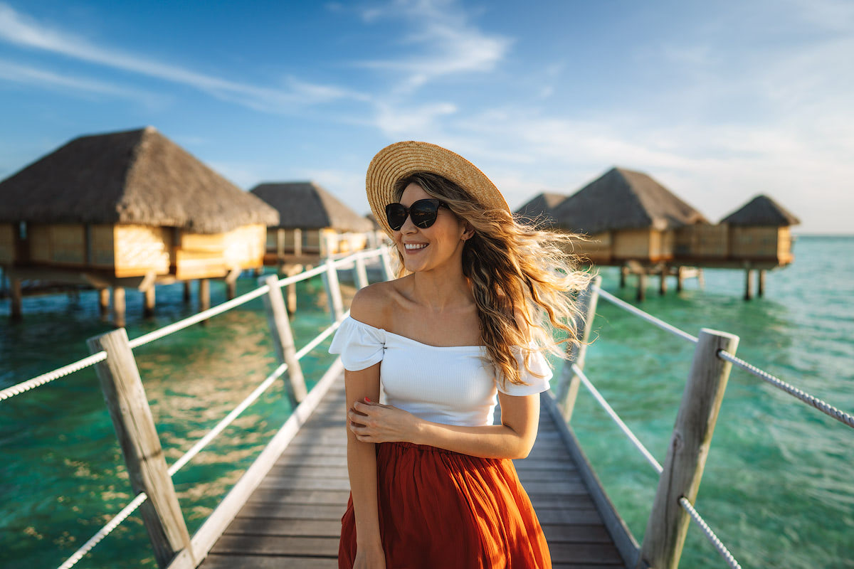 The Islands of Tahiti Le Tahaa Island Resort and Spa Renee Roaming Portrait
