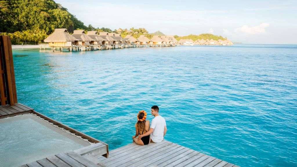 The Ultimate Romantic Couples Getaway to Bora Bora French Polynesia Conrad Bora Bora Nui Banner
