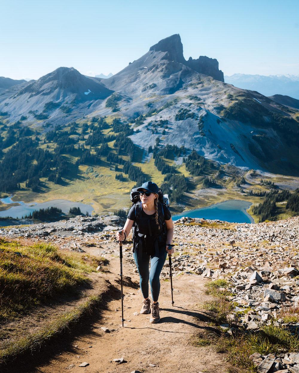 Garibaldi Provincial Park Panorama Ridge Overnight Backpacking Trip Black Tusk
