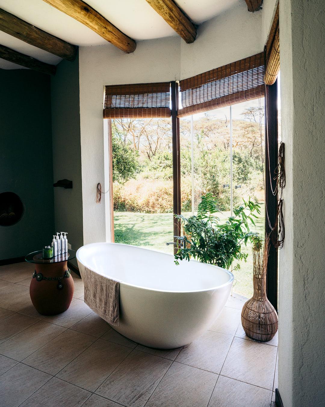 Experiencing an Incredible Luxury Safari at Solio Lodge Kenya Bathroom