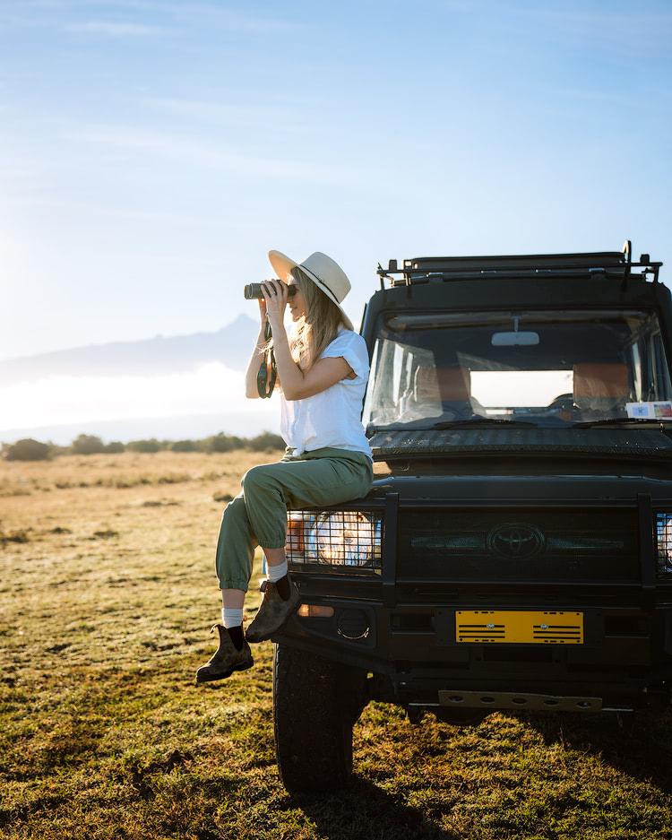 Experiencing an Incredible Luxury Safari at Solio Lodge Kenya Game Drive