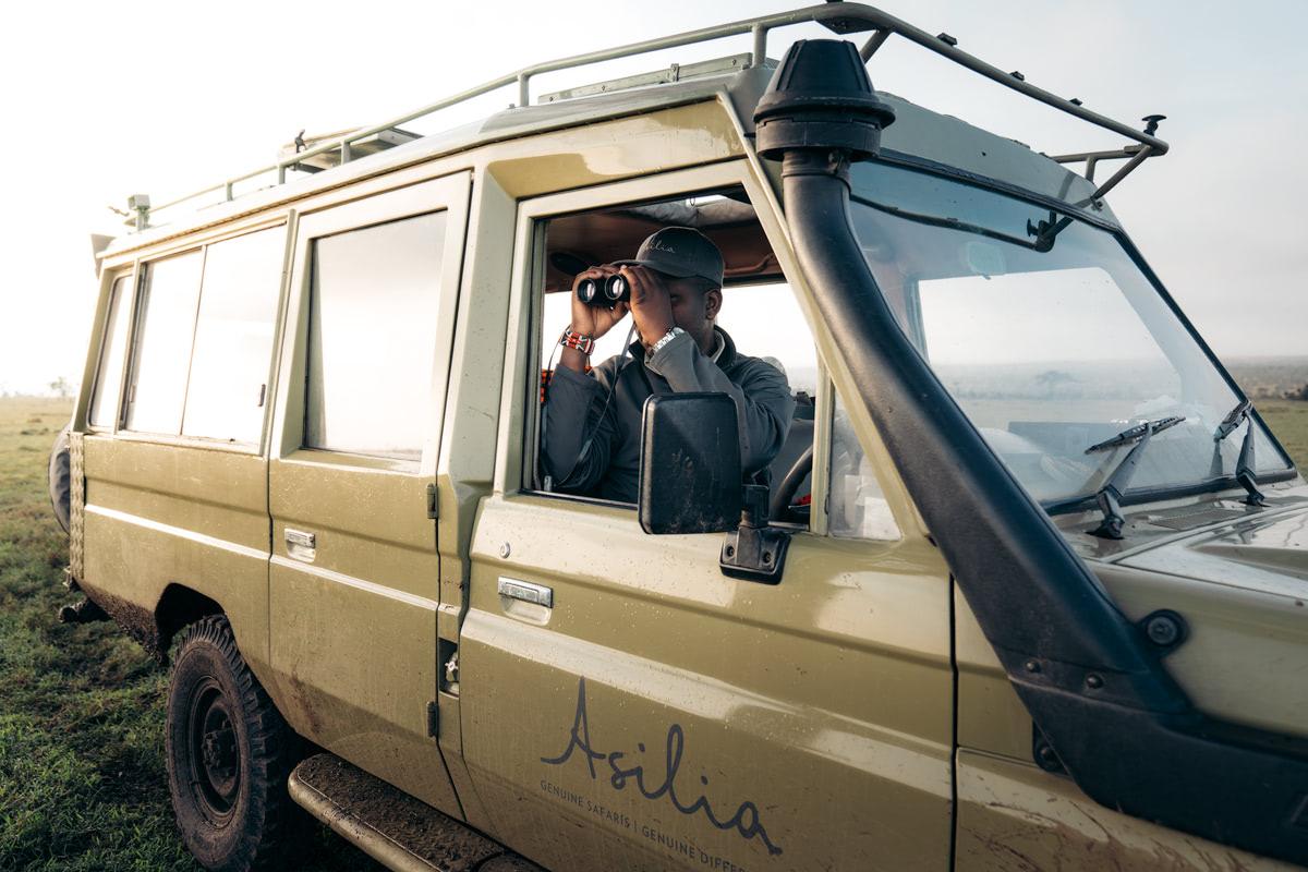 Ultimate Safari Adventure at Ol Pejeta Conservancy Kenya Asilia Safari Driver