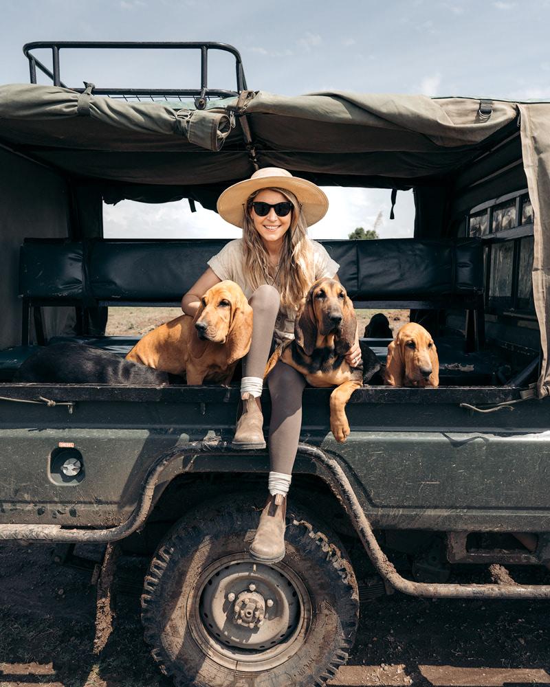 Ultimate Safari Adventure at Ol Pejeta Conservancy Kenya Blood Hound Cuddles