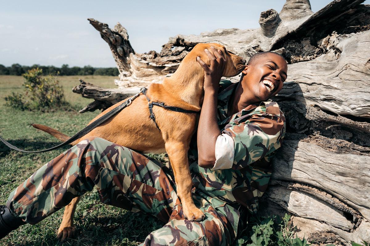 Ultimate Safari Adventure at Ol Pejeta Conservancy Kenya K9 Blood Hound Unit 4