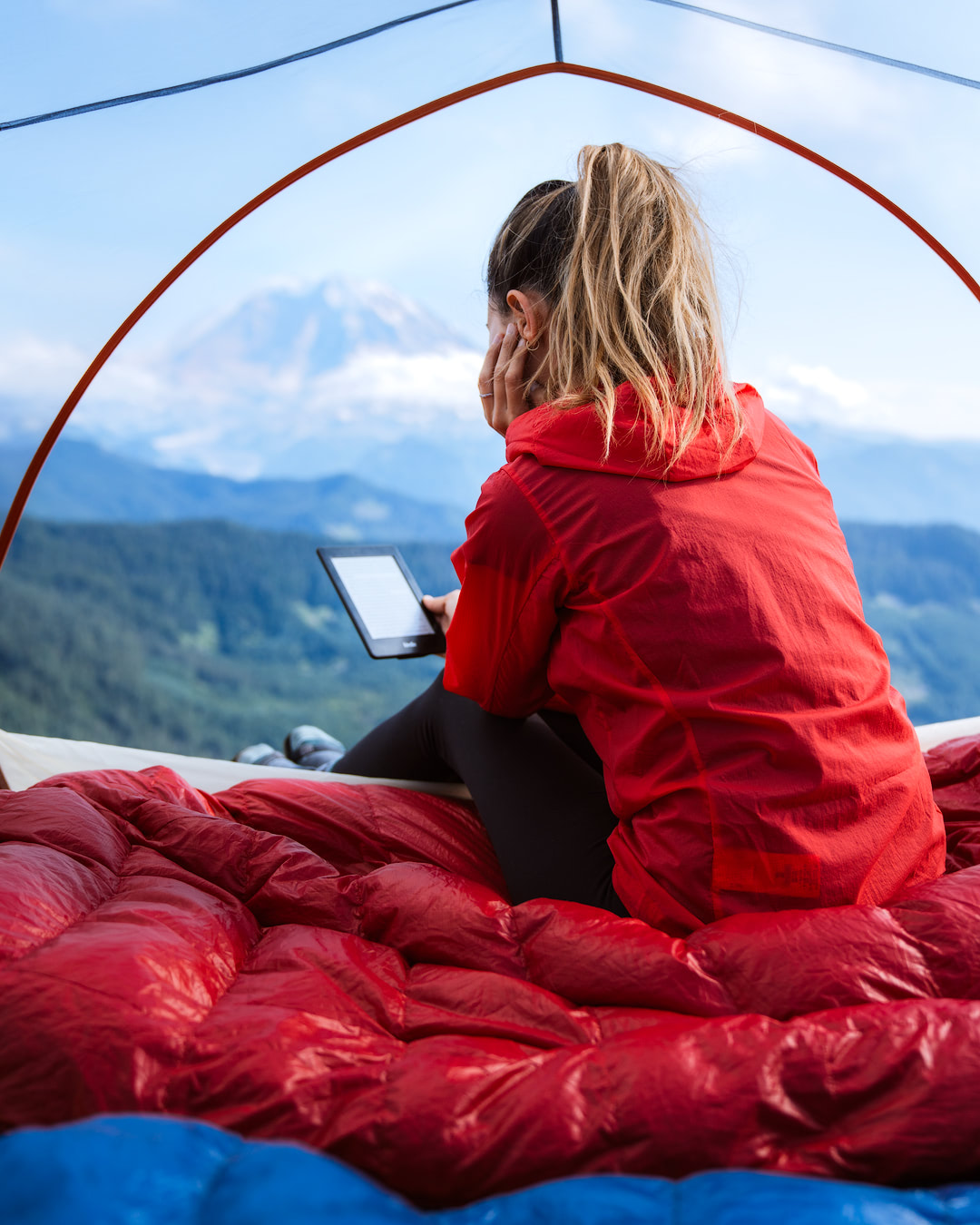 10 Tips for Getting a Good Night's Sleep when Backcountry Camping - Reading