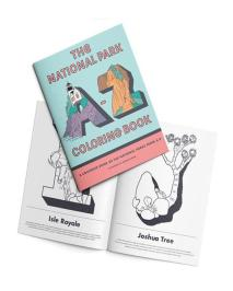 Holiday Gift Guide for National Park Lovers - Coloring Book