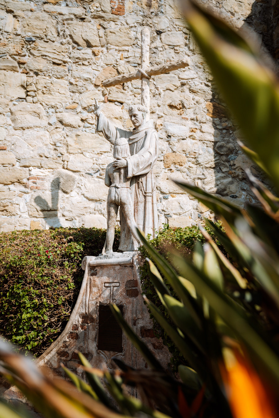 Orange County Travel Guide Everything You Need to Know- Mission San Juan Capistrano Statue