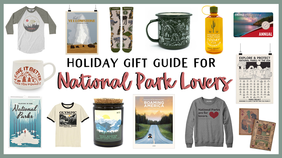 Holiday Gift Guide for National Park Lovers