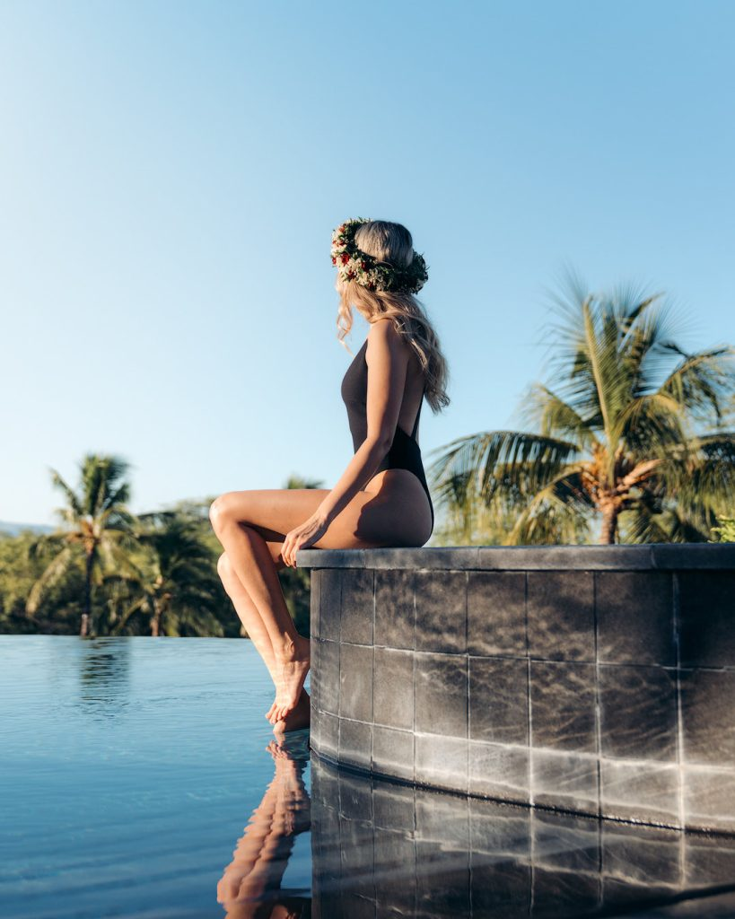 Plan an Incredible Trip to the Big Island of Hawaii - Adult Infinity Pool