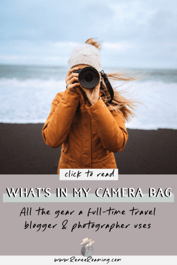 What's In My Camera Bag - All The Gear a Full-Time Travel Blogger and Photographer Uses