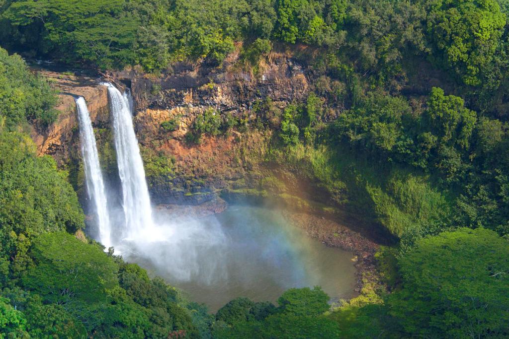 9 Must-Do Kauai Outdoor Adventures - Wailua Falls - Renee Roaming