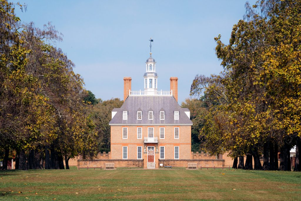 Williamsburg Virginia Guide and Itinerary - Colonial Williamsburg Governor's Palace