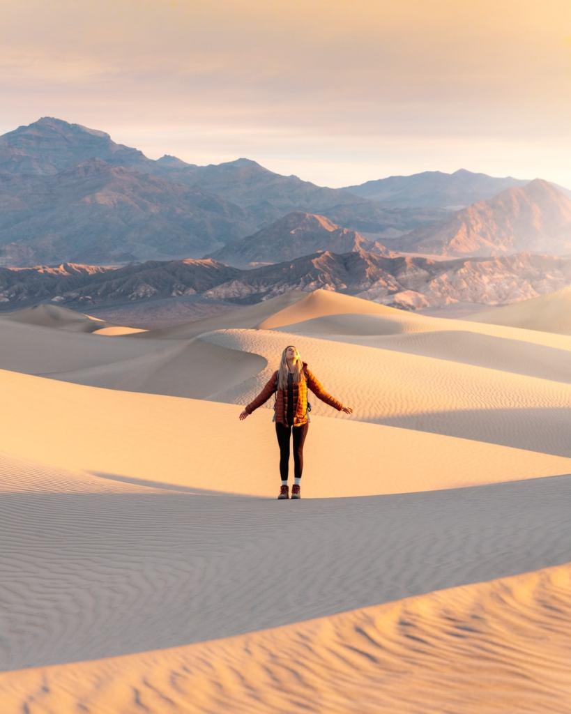 Best National Parks to Visit in Spring - Death Valley National Park - Mesquite Sand Dunes