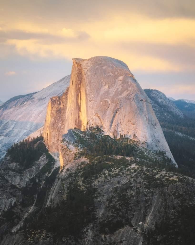 Best National Parks to Visit in Spring - Yosemite National Park - Half Dome