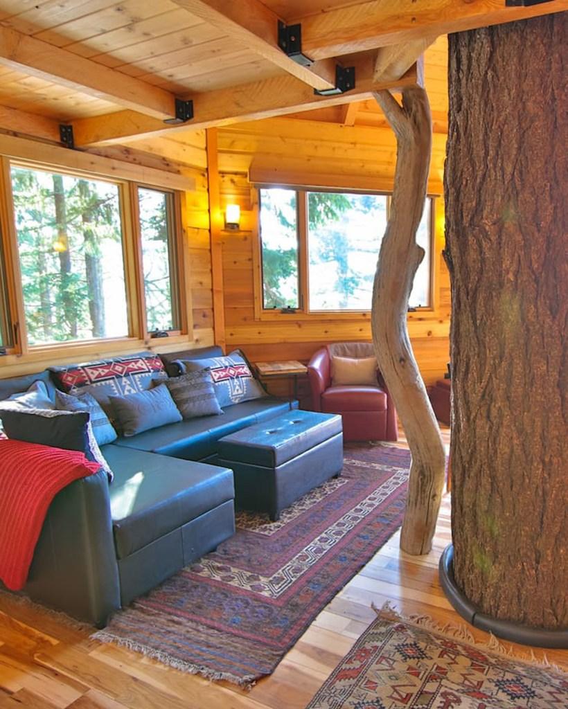 Oregon Treehouses To Rent - Osprey Treehouse