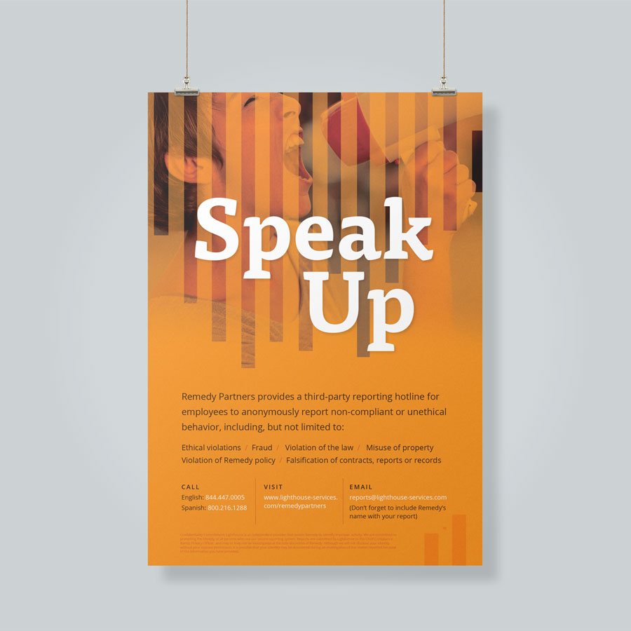 Compliance Posters: Speak Up