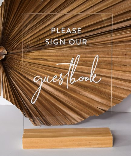 Guestbook-sign