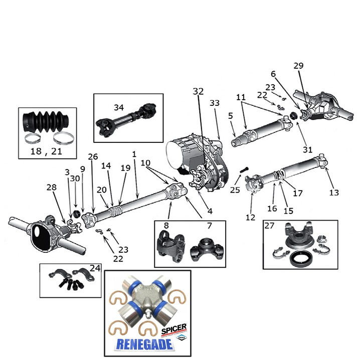 Prop Shaft Jeep Liberty Parts Diagram • Wiring Diagram For