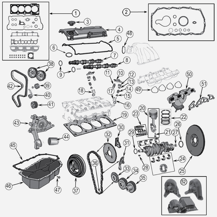 Ford 4 6 Dohc Oem Parts Diagram. Ford. Auto Wiring Diagram