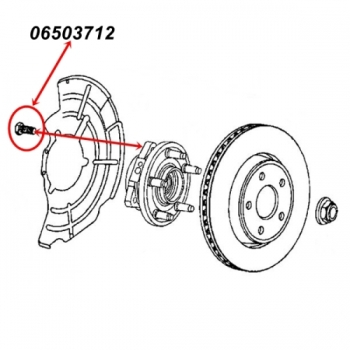 Front Axle Chrysler 200mm for Jeep Grand Cherokee WH / WK