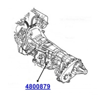 Jeep Grand Cherokee WJ WG Automatic Transmission Output