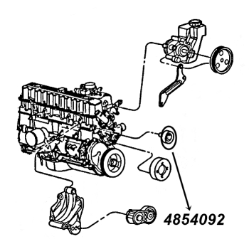 Wasserpumpen, Rollen & Lüfter Kupplung für Jeep Grand
