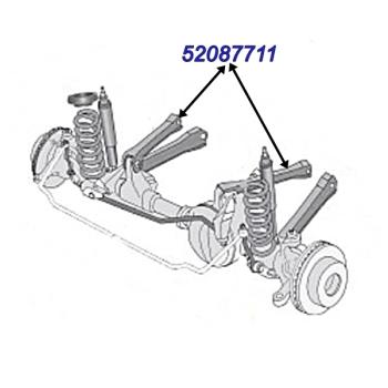 Federung & Fahrwerk für Jeep Grand Cherokee ZJ / ZG