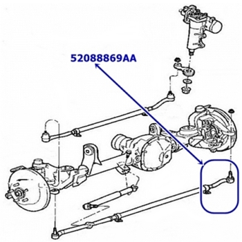 Lenkung für Jeep Grand Cherokee WJ / WG