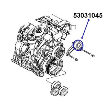 Wasserpumpen, Rollen & Lüfter Kupplung für Jeep Cherokee
