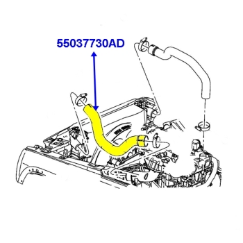 2,8 L CRD Diesel engine parts for Jeep Cherokee Liberty KJ