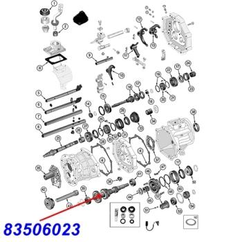 Jeep Wrangler TJ Cluster Gear AX5 manual Transmission 96-97