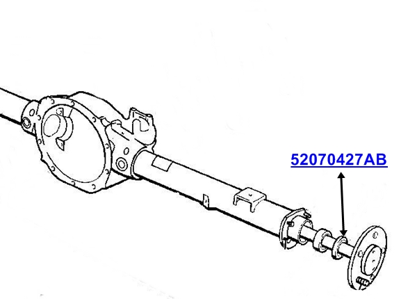 Jeep Cherokee Liberty KJ KK Axle Seal Drive Shaft Rear