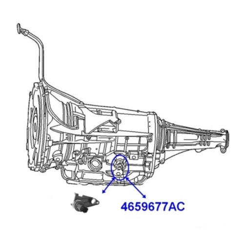 Jeep Cherokee Liberty KJ Neutral Safty Switch Sensor 42RLE