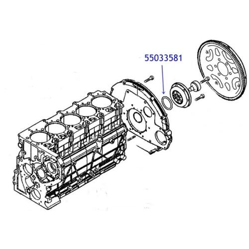 Jeep Grand Cherokee WJ WG O-Ring Kurbelwelle Motordichtung