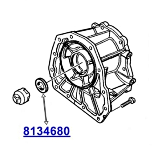 Jeep Cherokee Liberty KJ KK Output Seal Automatic