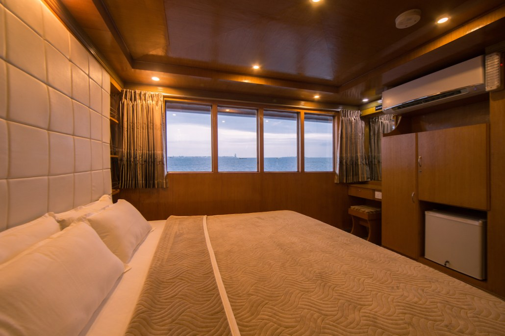 Double room with ocean view on Maldives Explorer
