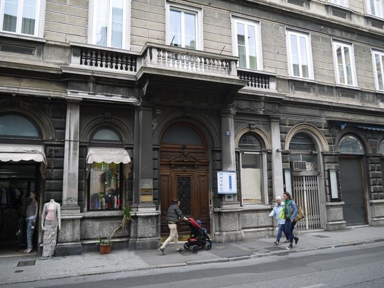 Nuovo Albergo Centro Hotel Trieste Italy Renegade Travels