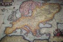 Ancient Maps of Europe Russia