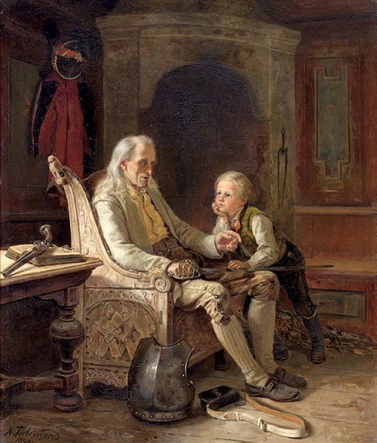 Adolph Tidemands Paintings of Norwegian Folk Culture