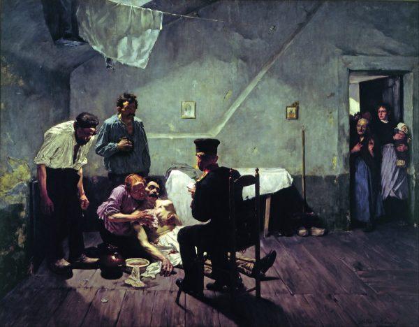 Paintings National Socialist Arthur Kampf