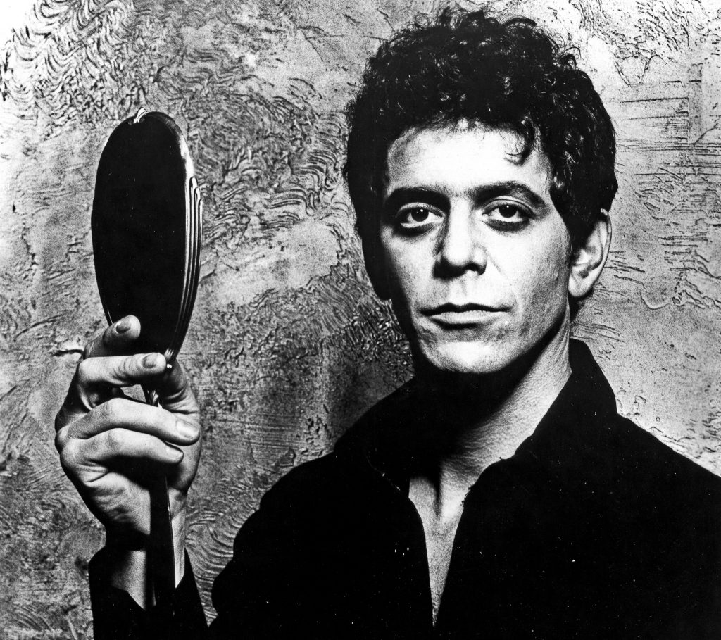 'Mirror, mirror, who's the most degenerate rock star of them all'. Lou Reed in 1979.