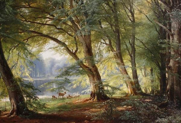 Carl Aagaard the Deer Park By
