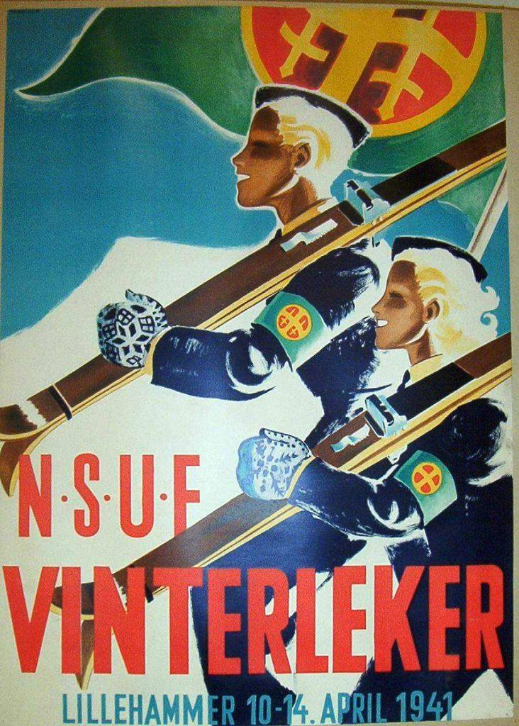 harald-damsleth-n-s-u-f-vinterleker-1941