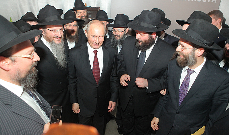 Image result for putin chabad