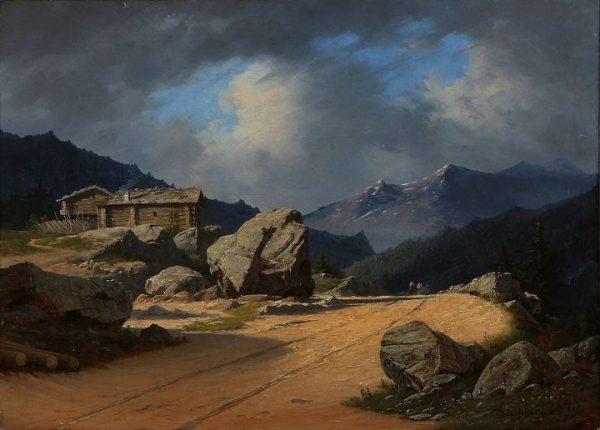 landscape paintings denmark