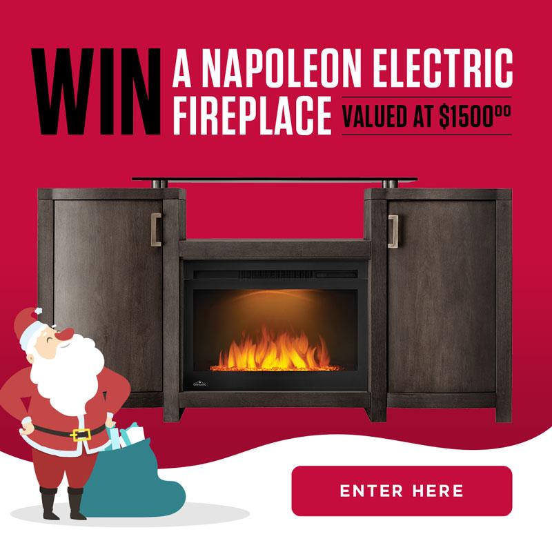 Win a fireplace